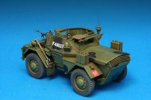 Photos 35077 英国侦察车野狗 MK.3带士兵