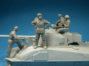 Photos 35078 BRITISH TANK CREW