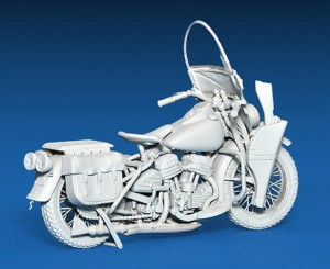 Photos 35080 U.S. WW II Motorcycle WLA