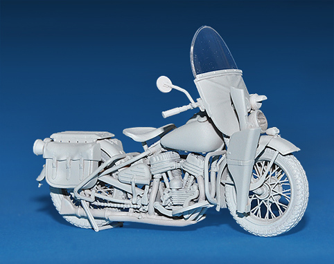 35080 U.S. WW II Motorcycle WLA