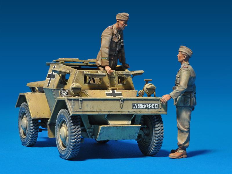 35082ディンゴMk1Pz.Kpfw.Mk.1 202eフィギュア3体付