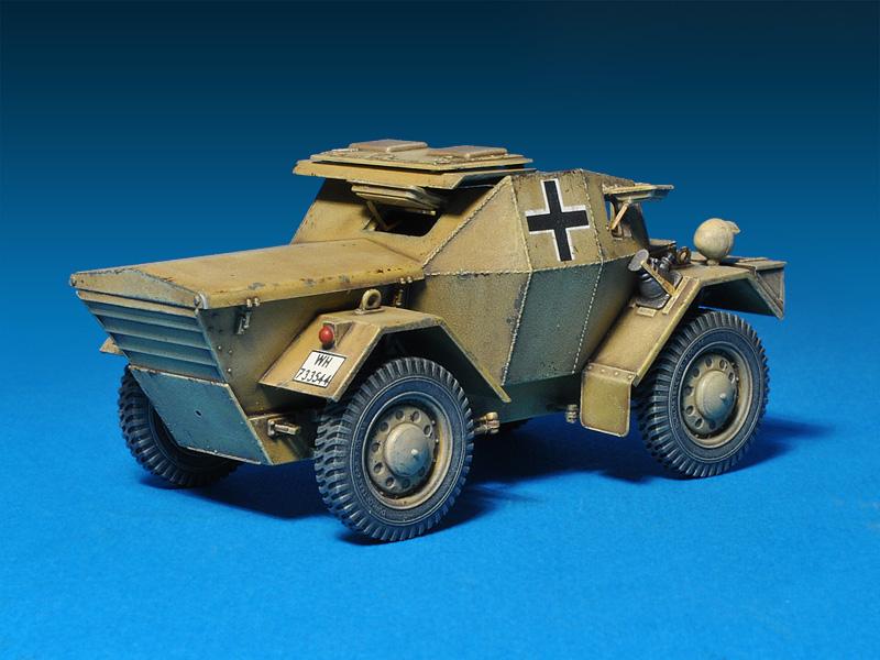 35082 LEICHTER Pz.kpfw. 202(e) с ЭКИПАЖЕМ (ДИНГО Mk.I)