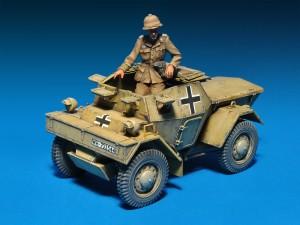 Photos 35082 莱希特尔装甲侦察车 MkI 202(e)带士兵