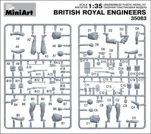 Content box 35083 BRITISH ROYAL ENGINEERS