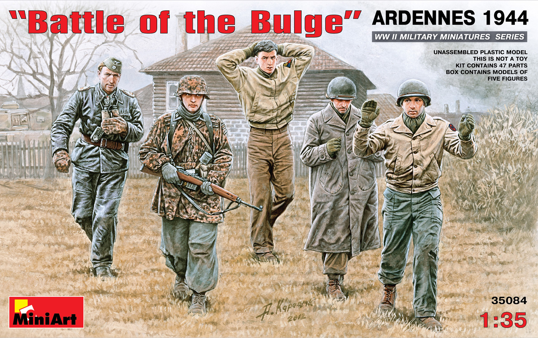 "35084 ""Battle of the Bulge"" ARDENNES 1944"