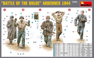 "Content box 35084 ""Battle of the Bulge"" ARDENNES 1944"