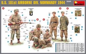 Content box 35089 U.S. 101st AIRBORNE DIVISION (NORMANDY 1944)