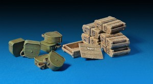Photos 35090 SOVIET INFANTRY AMMO BOXES