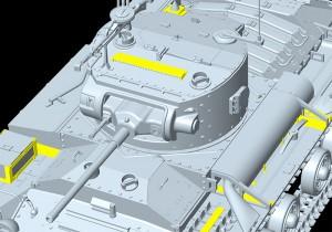 3D renders 35092 VALENTINE Mk.IV RED ARMY w/CREW