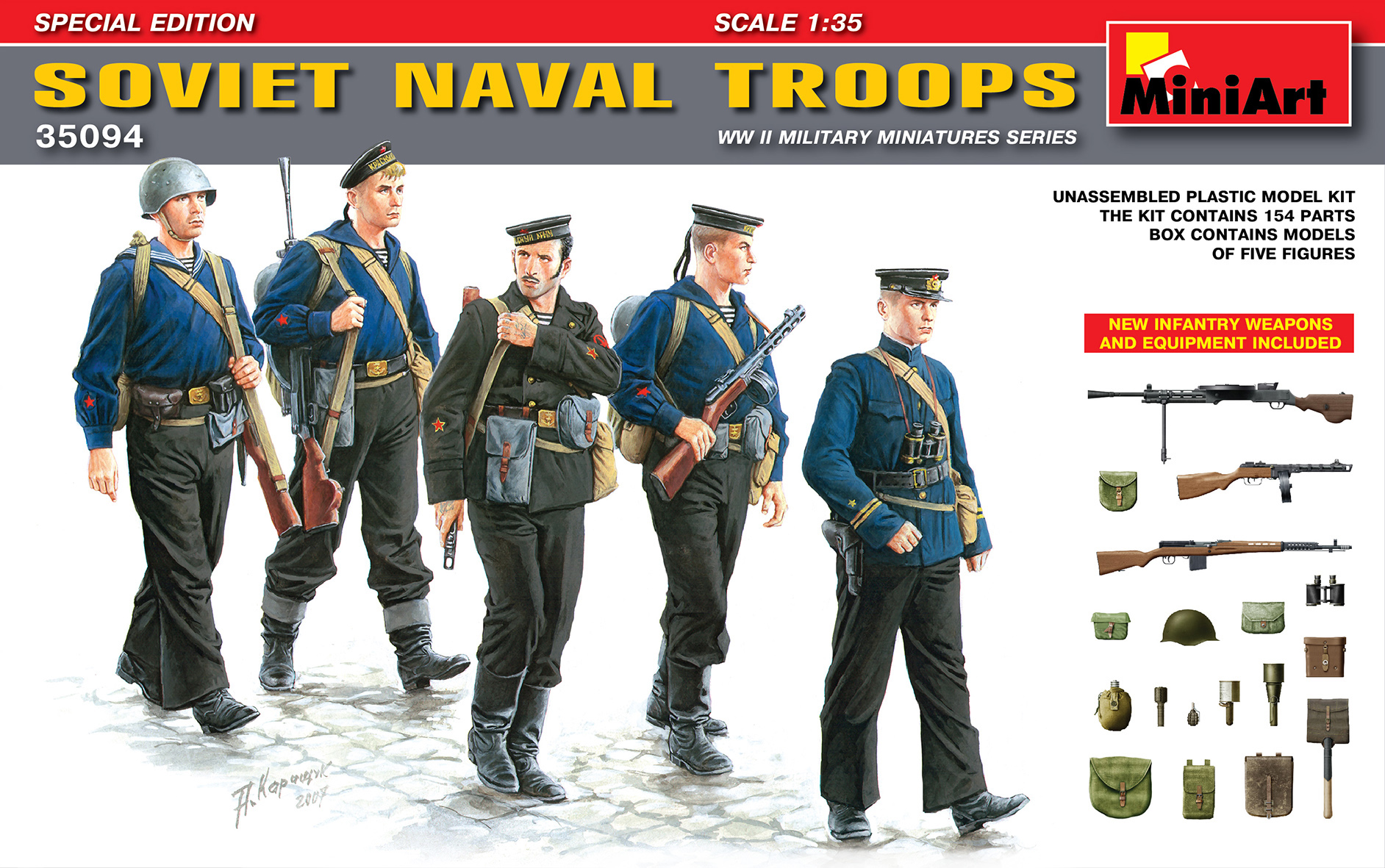 SOVIET NAVAL TROOPS SPECIAL EDITION