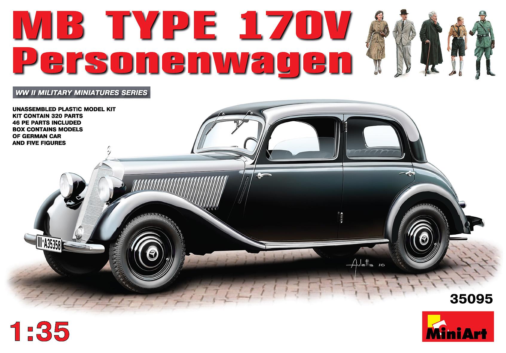 35095 MB TYPE 170V Personenwagen