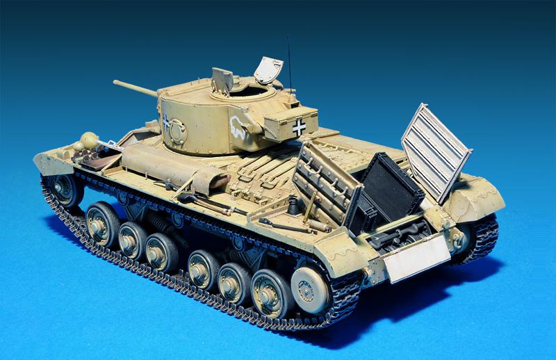 35100 Pz.Kpfw. Mk.III 749(e) ВАЛЕНТАЙН III с/ЭКИПАЖЕМ