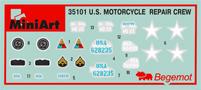 Content box 35101 U.S. MOTORRAD REPARATUR CREW