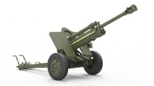 3D renders 351047.62cm FK 39(r) ドイツのフィールドガン