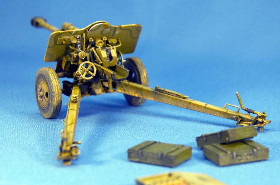35104 7.62cm FK 39(r) GERMAN FIELD GUN