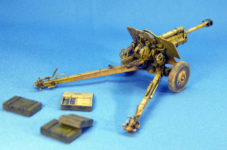 35104 二战德国7.62 cm F.K. 39  野战炮