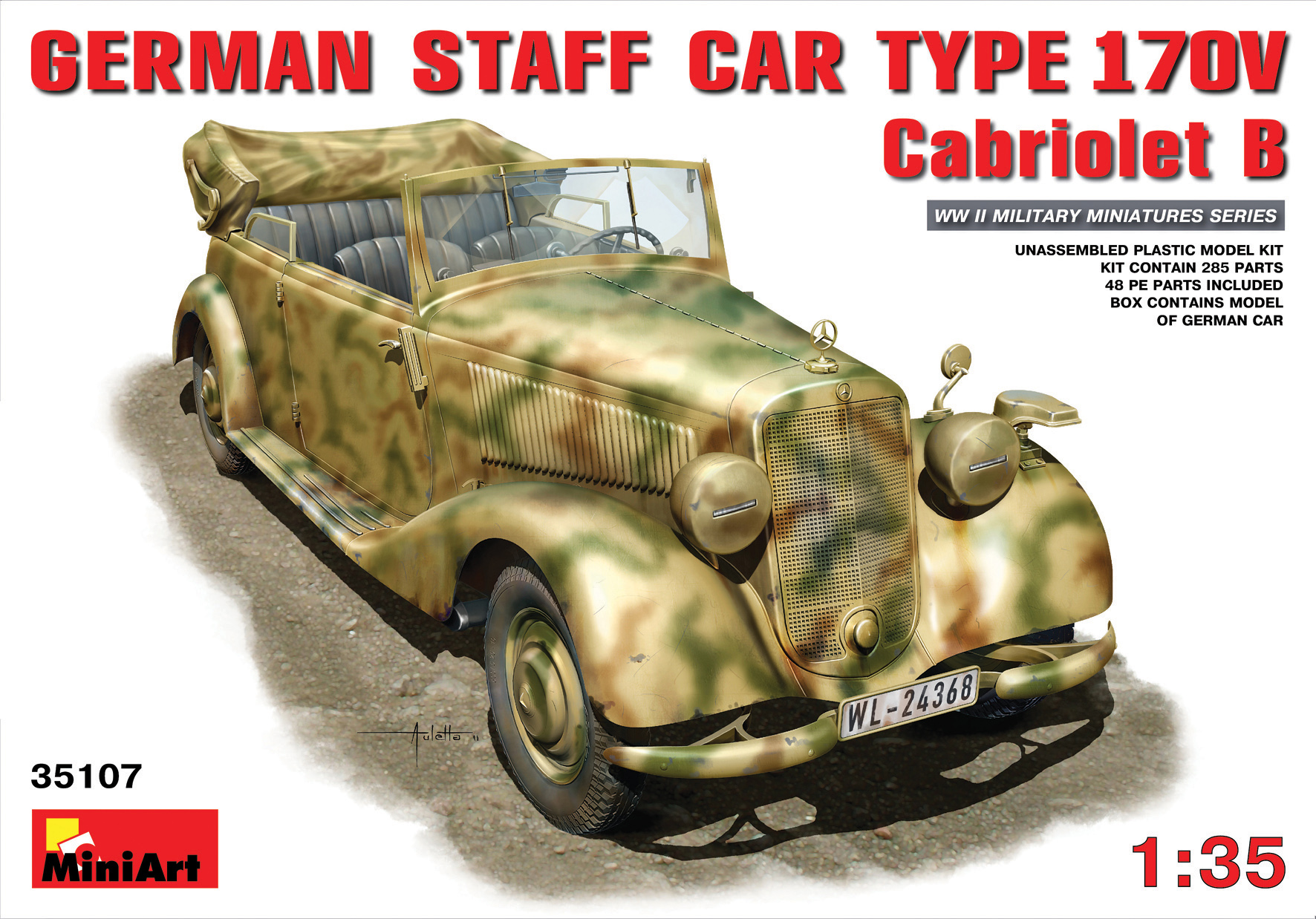 GERMAN CAR TYPE 170V Cabriolet B.