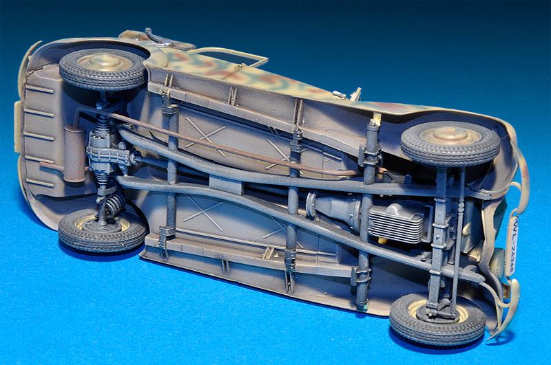 35107 НЕМЕЦКИЙ ШТАБНОЙ АВТОМОБИЛЬ Тип 170V Кабриолет