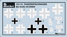 Content box 35110 PANZERSPAHWAGEN BA-64(r) w/CREW