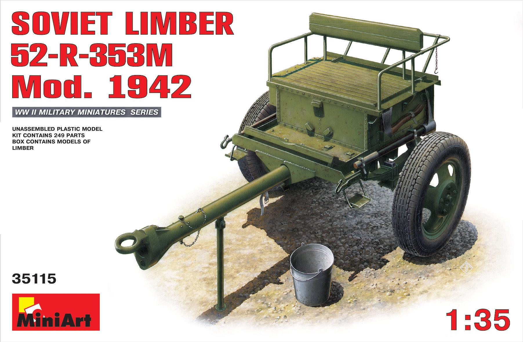 35115 SOVIET LIMBER 52-R-353M Mod. 1942