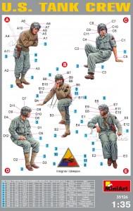Content box 35126アメリカ戦車兵フィギュアセット5体入