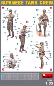 Content box 35128 二战日本坦克乘员组