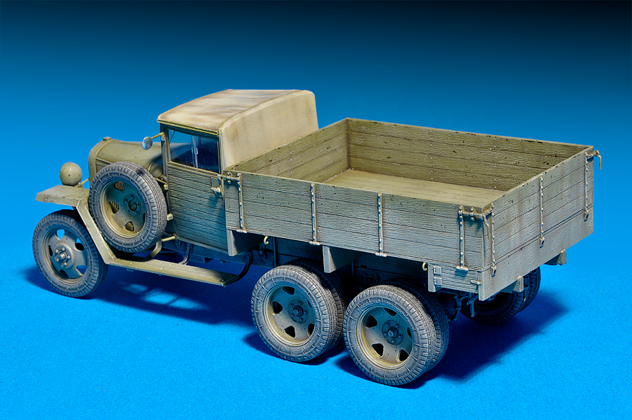 35133 GAZ-AAA Mod. 1943. 货运卡车
