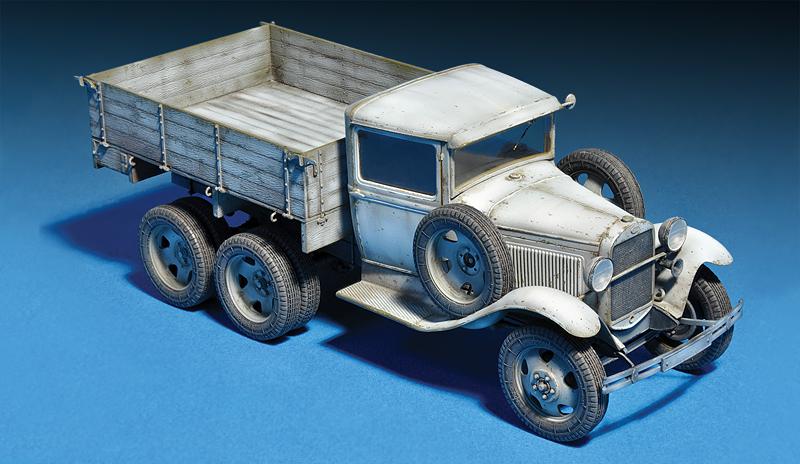 35136 GAZ-AAA Mod. 1940. CARGO TRUCK
