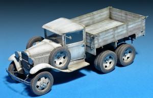 Photos 35136 GAZ-AAA Mod. 1940. CARGO TRUCK