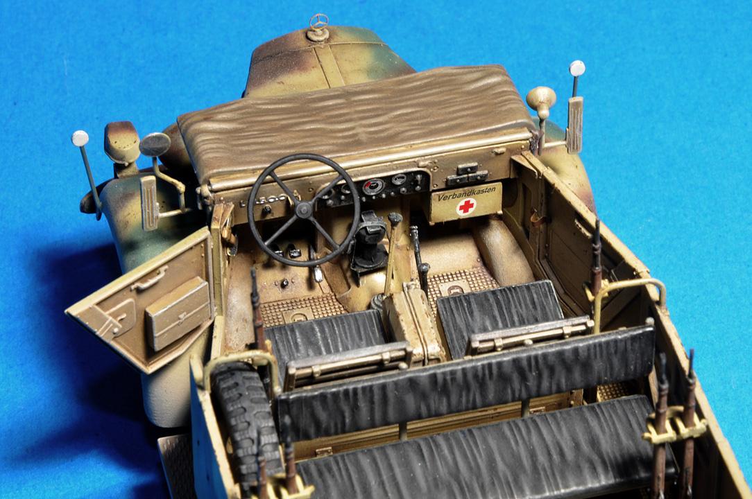 35139ドイツ軍kfz.70MB1500A 4X4フィギュア6体付