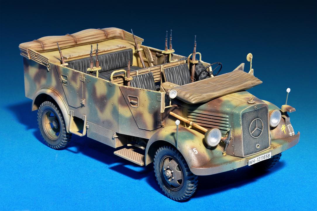 35139 德国4*4 敞篷车 带兵人
