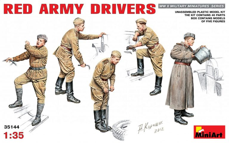 35144 RED ARMY DRIVERS