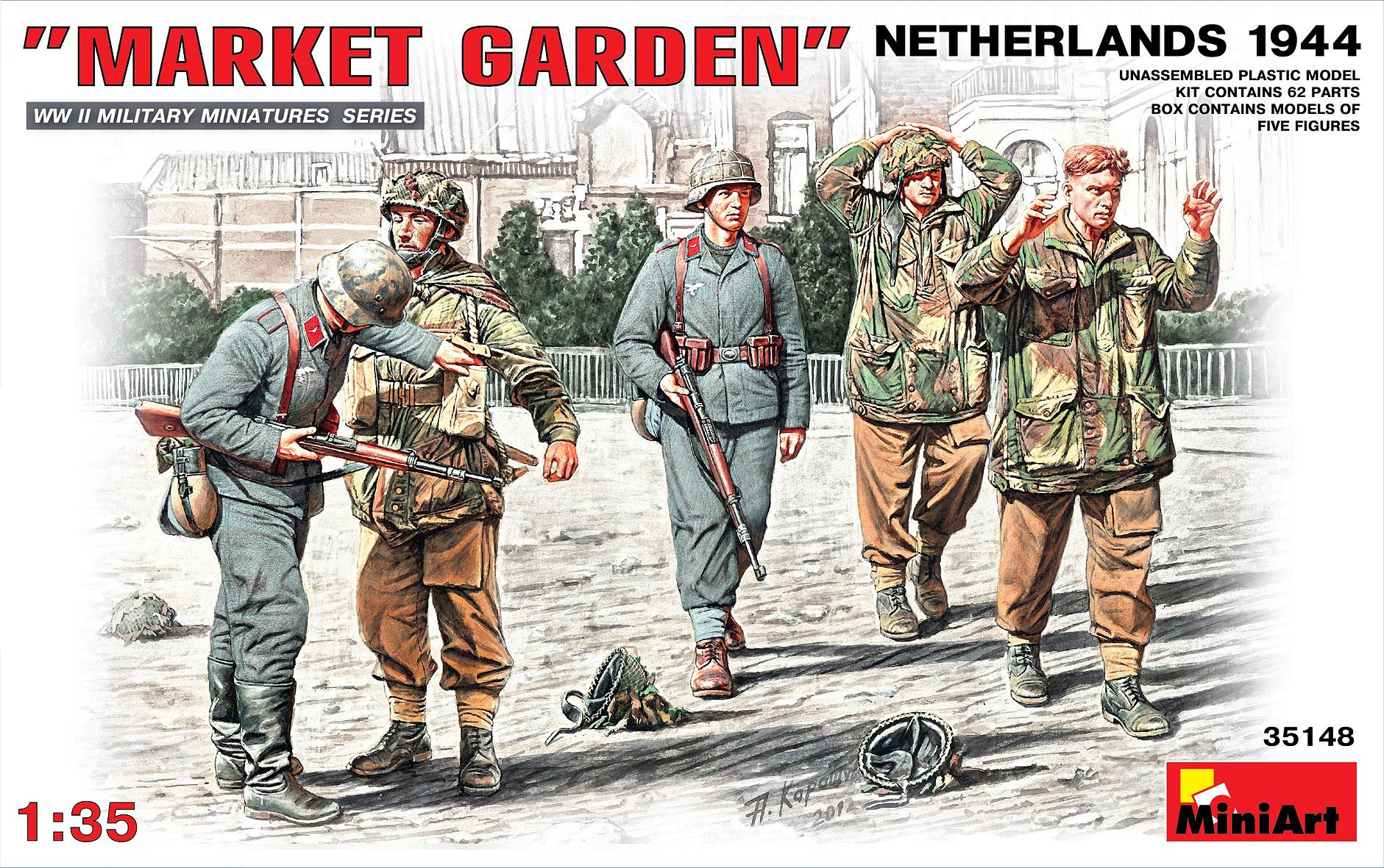 35148 «MARKET GARDEN» Голландия 1944г.