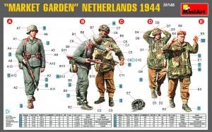 Content box 35148マ-ケットガ-デン作戦(オランダ1944)フィギュア5体入