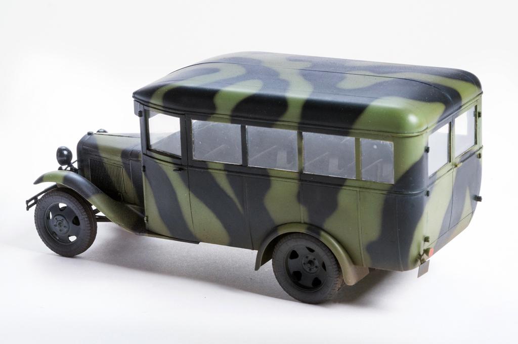 35149 СОВЕТСКИЙ АВТОБУС ГАЗ 03-30 обр. 1938 г.