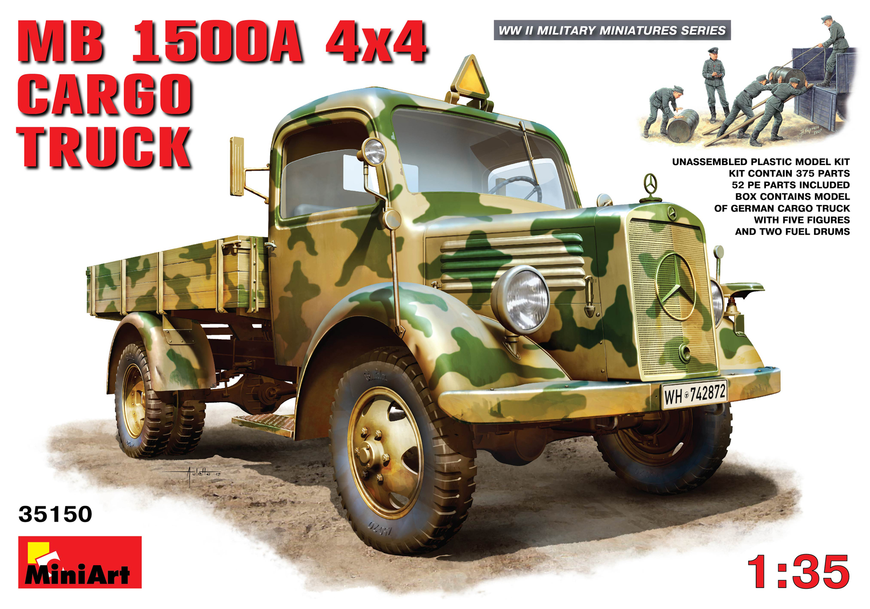 35150 MB 1500A 4×4 LASTWAGEN