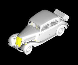 3D renders 35095 MB TYPE 170V Personenwagen