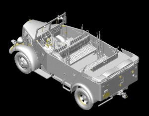 3D renders 35147 L1500A (Kfz.70) GERMAN PERSONNEL CAR
