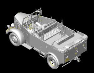 3D renders 35147 L1500A (Kfz.70) DEUTSCHE PERSONALAUTO
