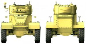 Side views 35152 AEC Mk.I ARMOURED CAR