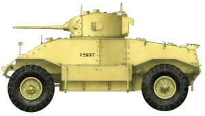 Side views 35152 AEC Mk.I ARMOURED CAR