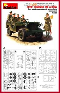 Content box 35048 SOVIET COMMAND CAR w/CREW