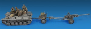Photos 35039 GERMAN ARTILLERY TRACTOR T-70(r) AND 7,62cm FK 288(r) w/CREW