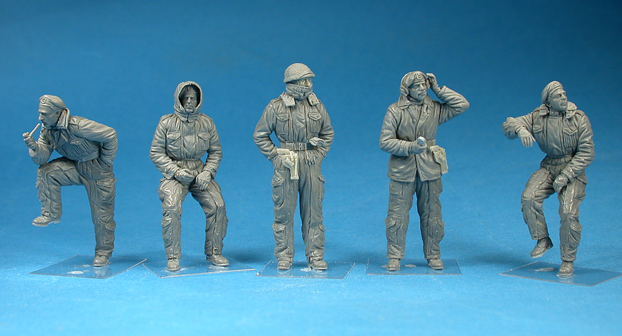 35121 BRITISH TANK CREW. WINTER UNIFORM