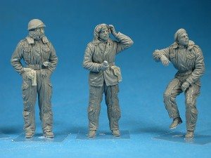 Photos 35121 BRITISH TANK CREW. WINTER UNIFORM