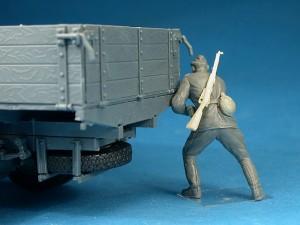 Photos 35133 GAZ-AAA Mod. 1943. CARGO TRUCK