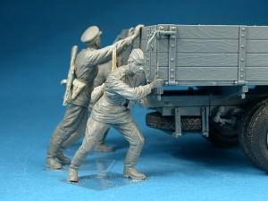 Photos 35133 GAZ-AAA Mod. 1943. 货运卡车