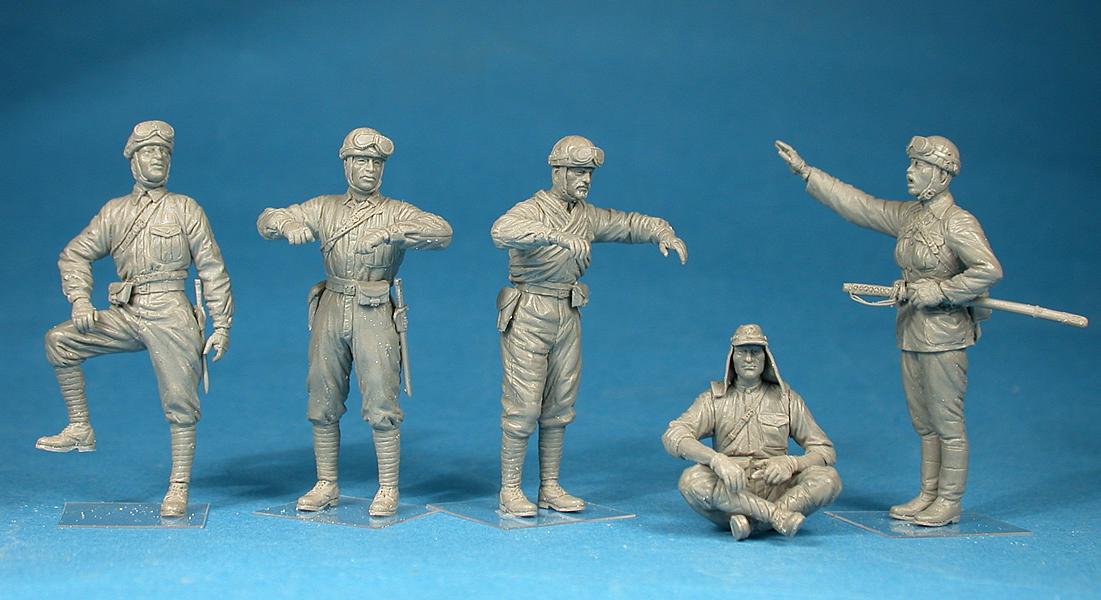 35128 二战日本坦克乘员组