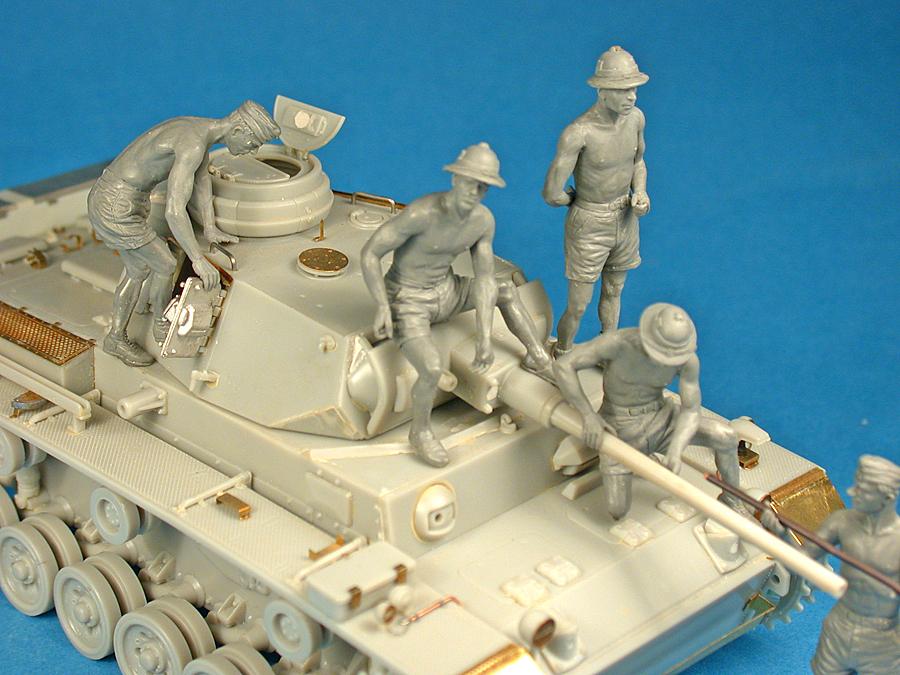 """35141 德國坦克船員 """"Afrika Korps"""""""