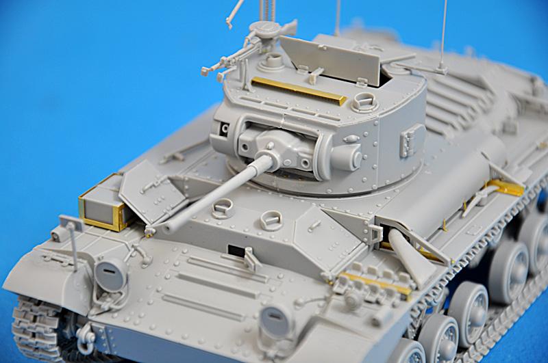 35092バレンタインMKⅣ歩兵戦車ソビエト軍仕様フィギュア5体付